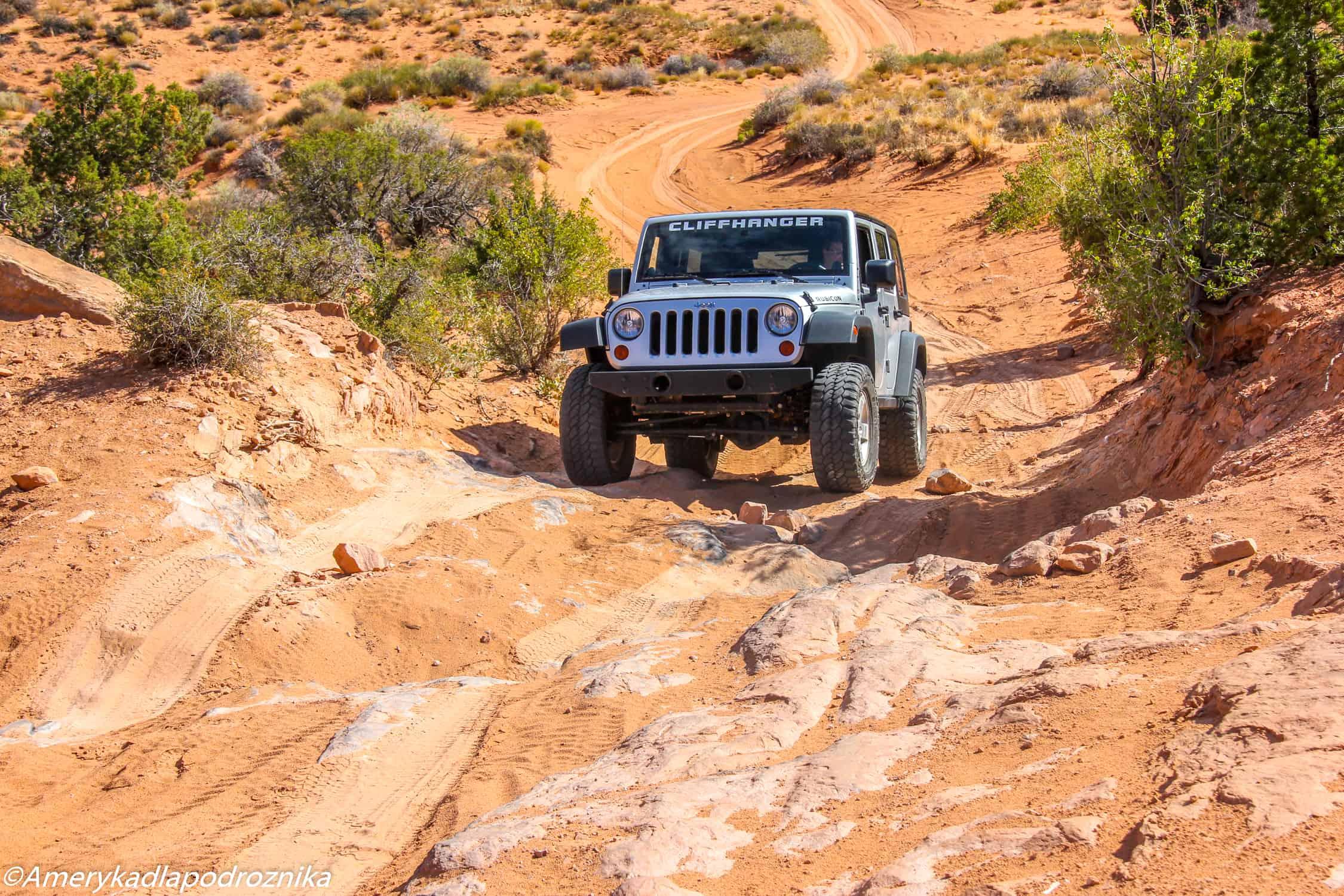 pożyczamy jeepa w Moab