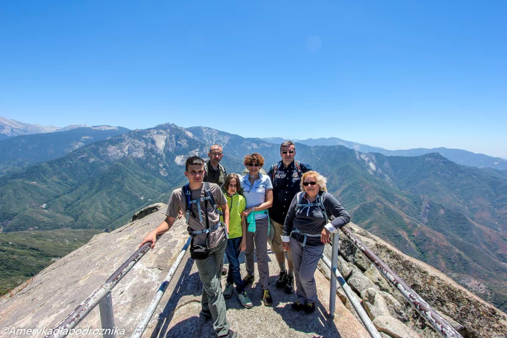 Park Narodowy Sekwoi moro rock sequoia national park