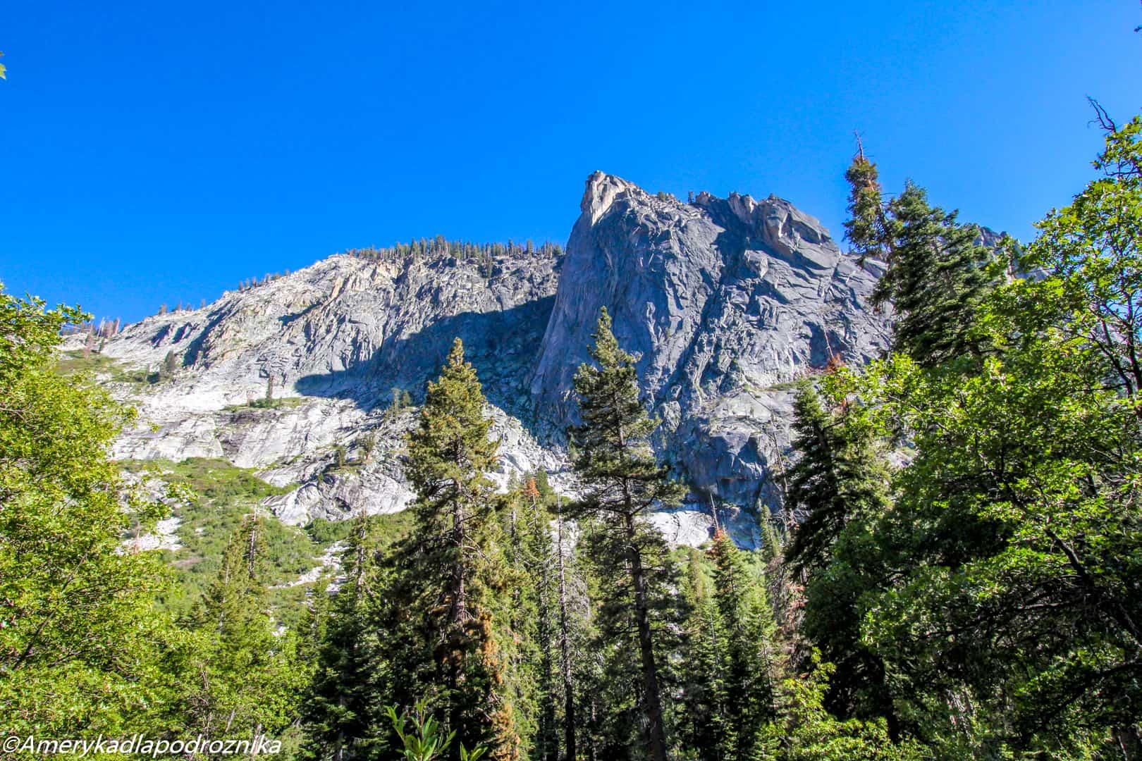 Park Narodowy Sekwoi tokopah falls sequoia national park