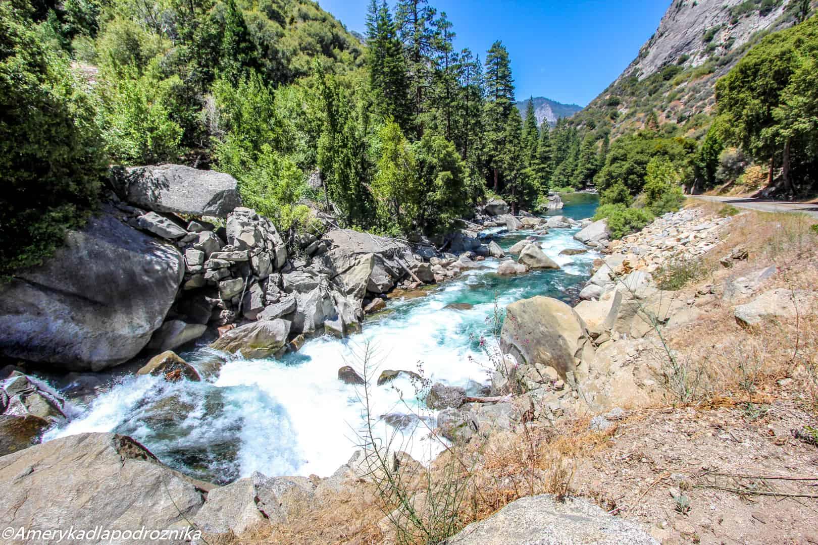 park narodowy sekwoi kings river kings canyon