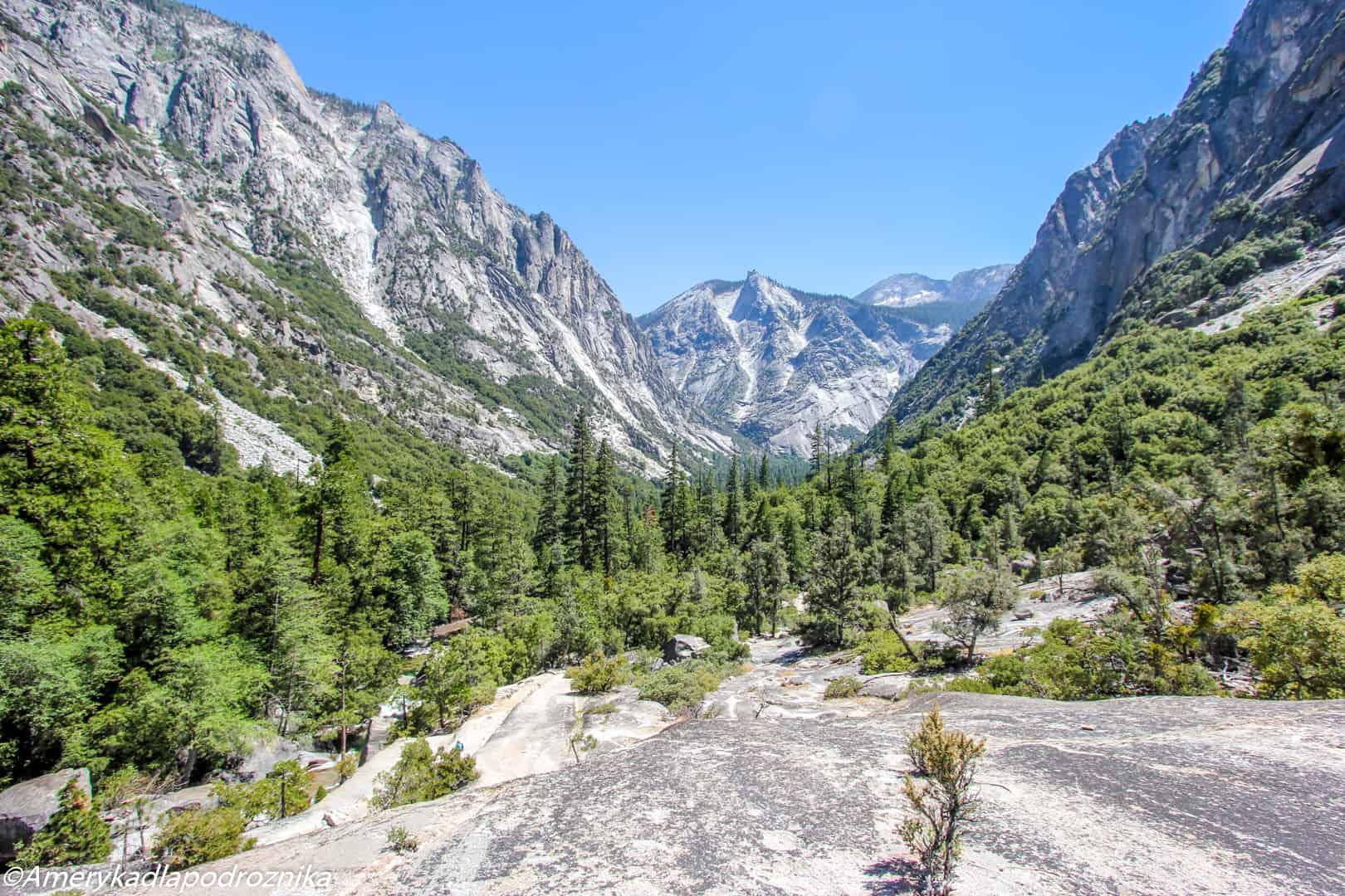 park narodowy sekwoi mist falls trail kings canyon