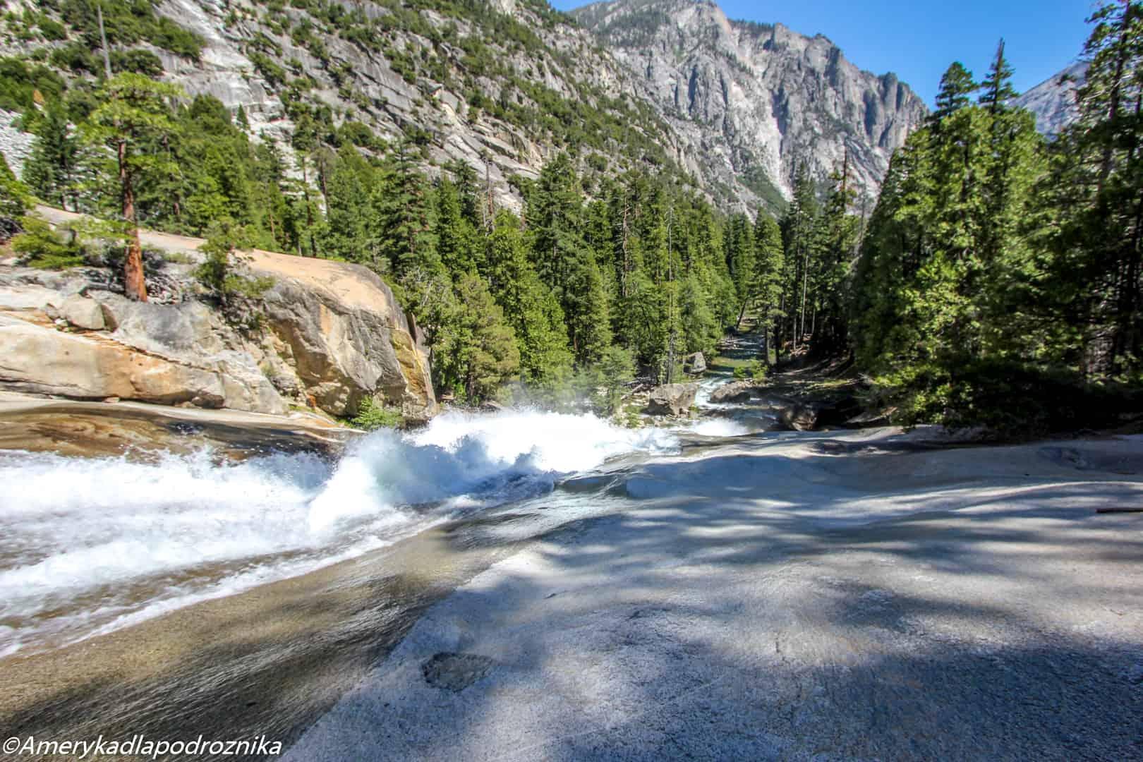 park narodowy sekwoi mist falls kings canyon