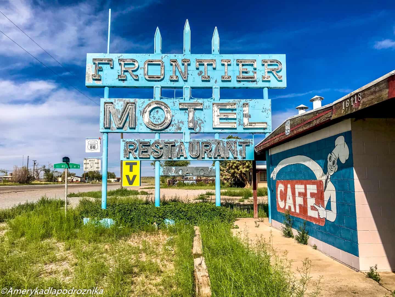 droga 66, Truxton, Frontier Motel