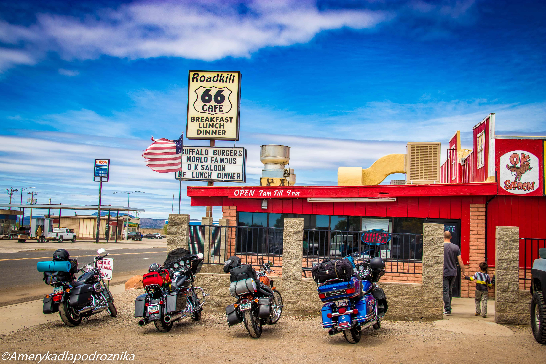 droga 66, Seligman, Roadkill Cafe