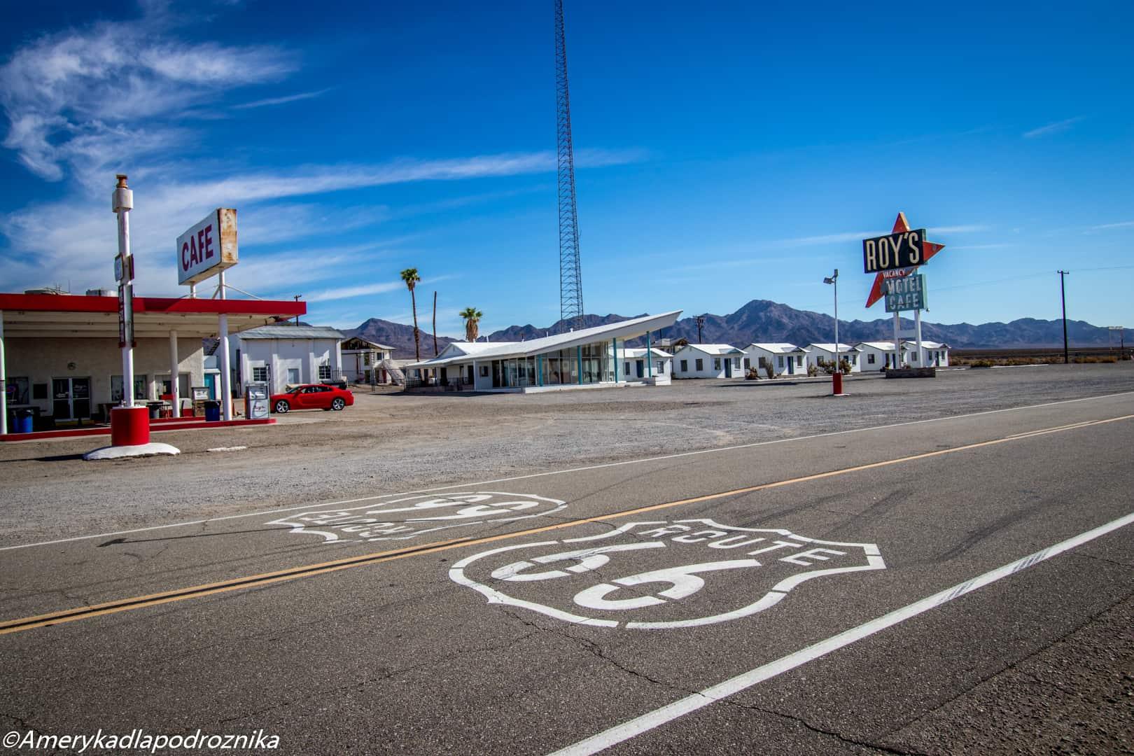 droga 66 - Roy's motel