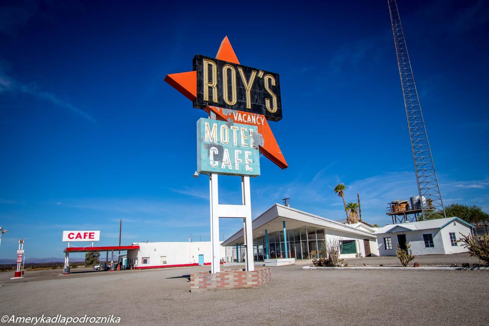 droga 66, roy's motel