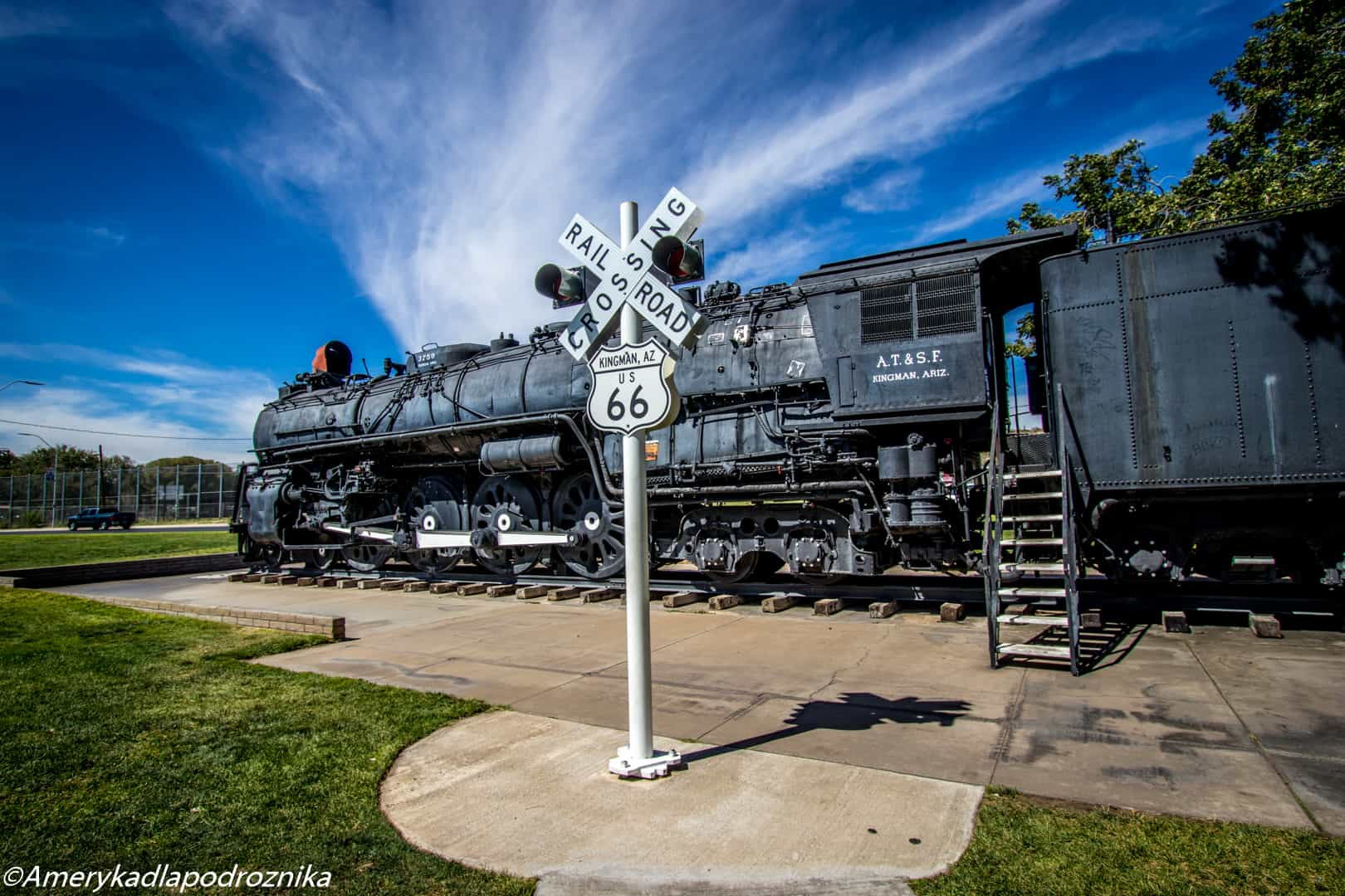 droga 66, Kingman, Locomotive Park