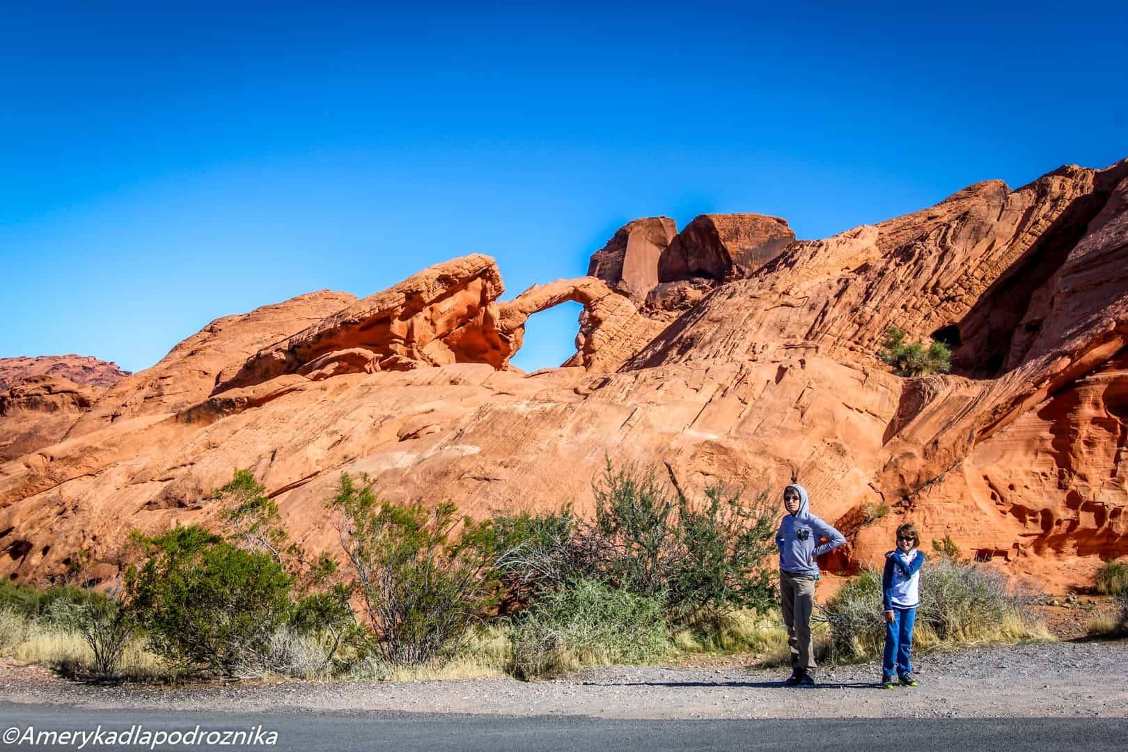 valley of fire, arch rock