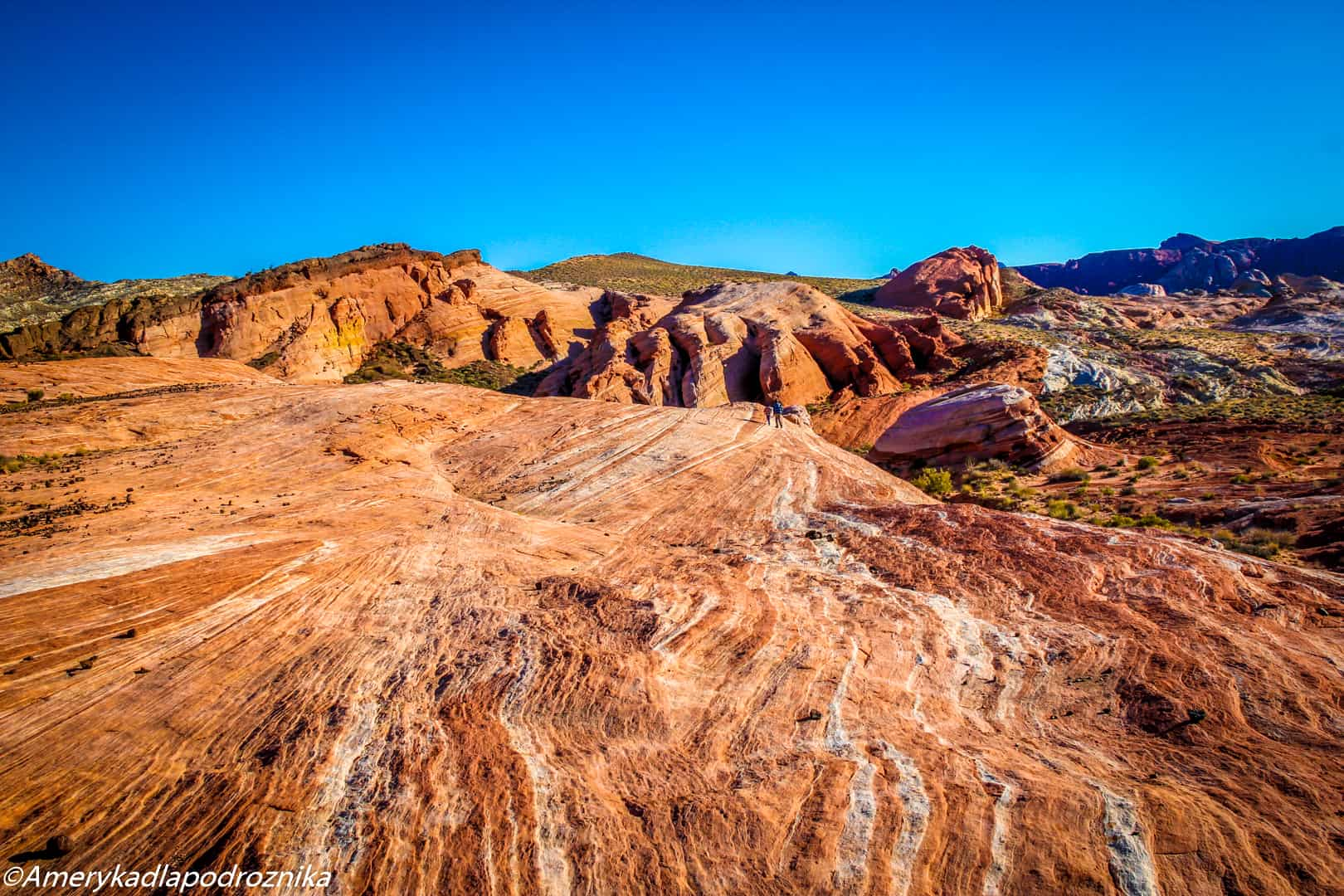 valley of fire, droga do fire wave