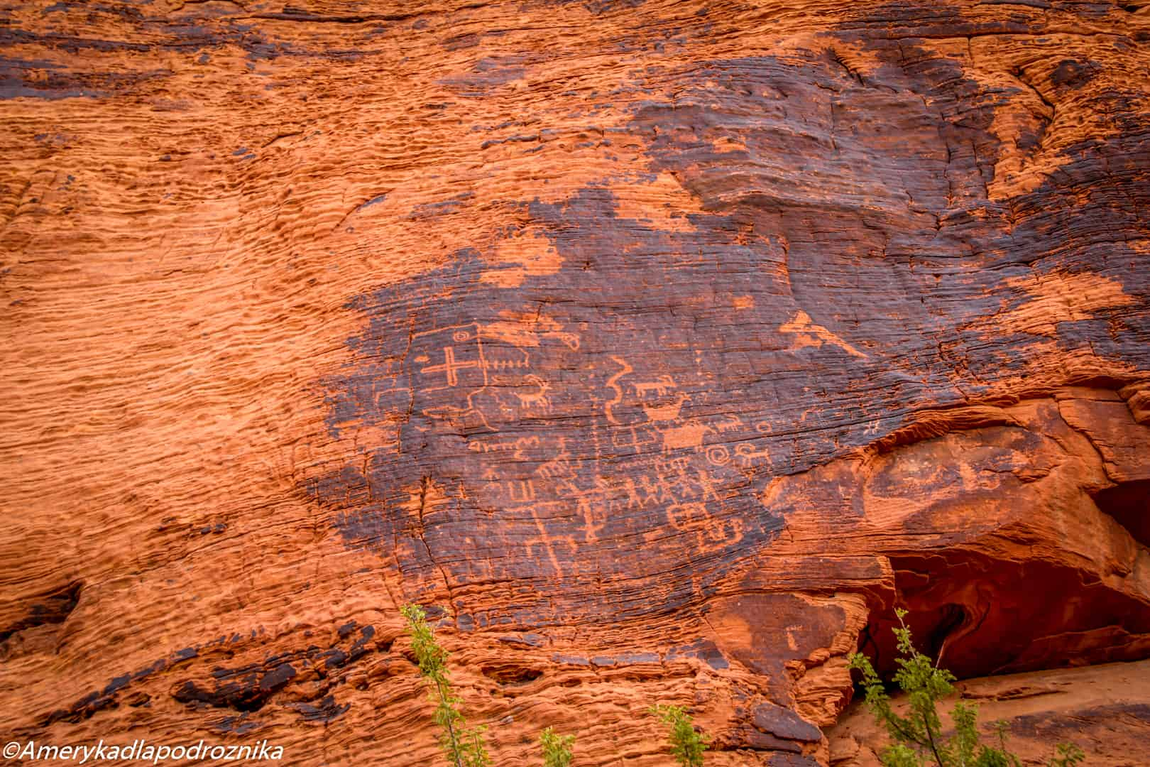 valley of fire, petroglyph canyon