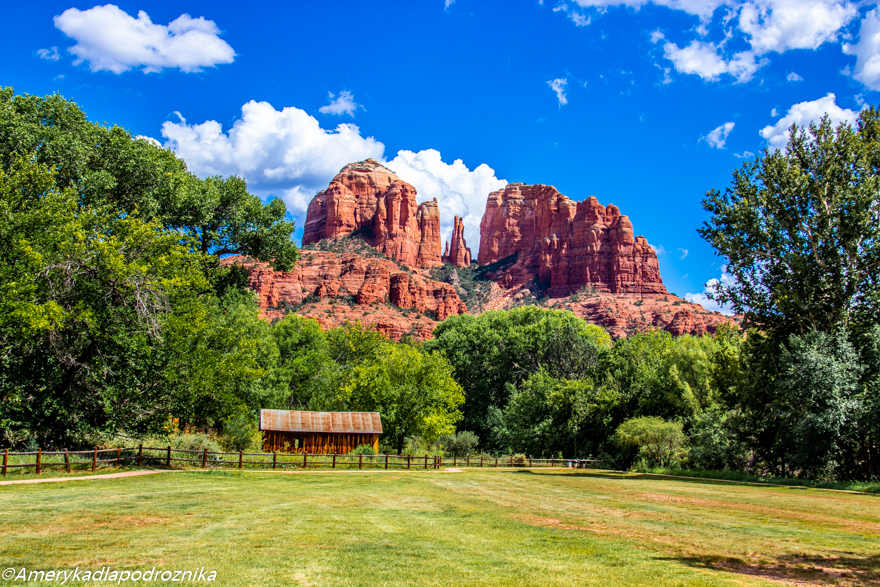 Cathedral Rock Crescent Moon Picnic Area