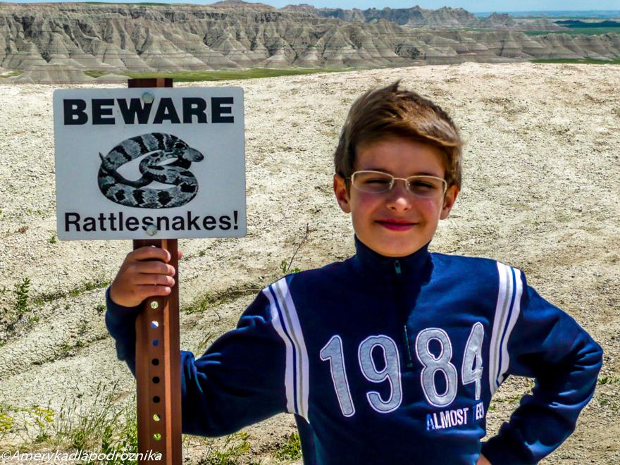 badlands beware rattlesnakes