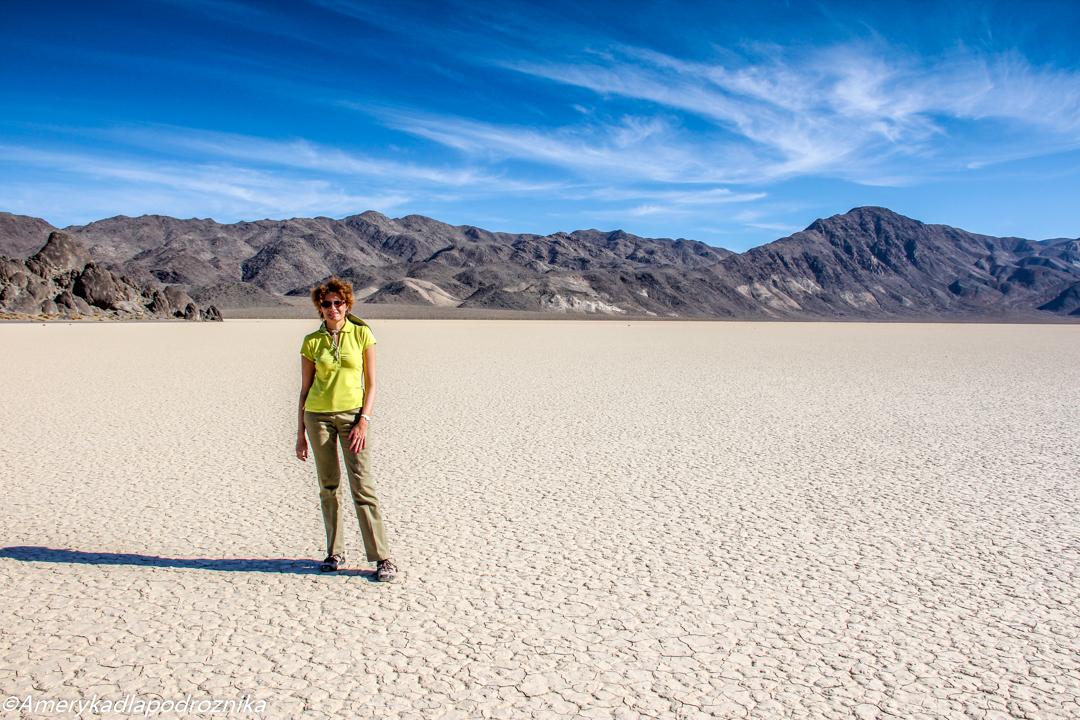 parki narodowe zachodu USA zimą dolina śmierci