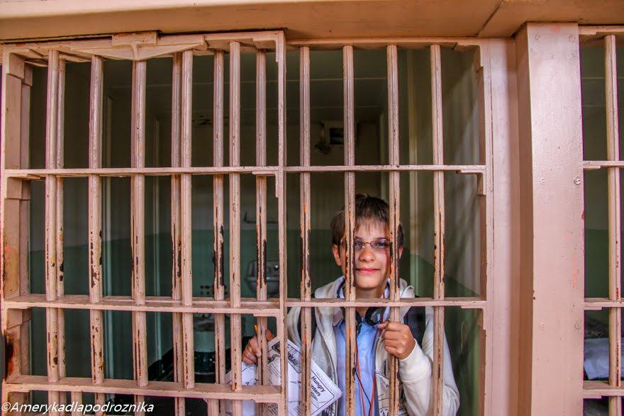 Alcatraz z dzieckiem