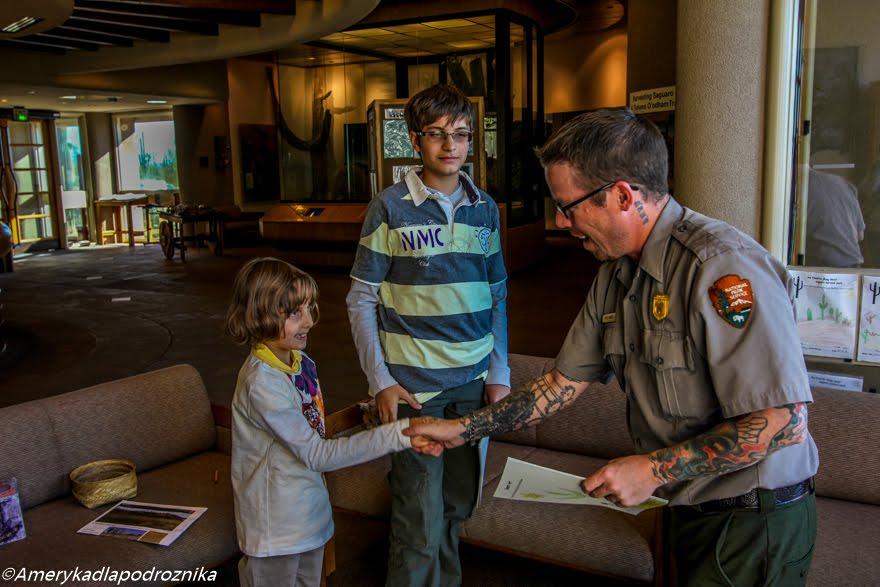podróż z dzieckiem do usa junior ranger