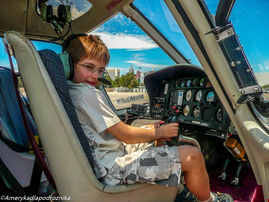 podróż z dzieckiem do usa lot helikopterem