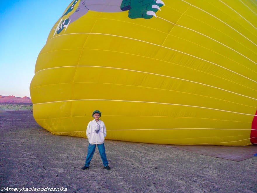 podróż z dzieckiem do usa lot balonem