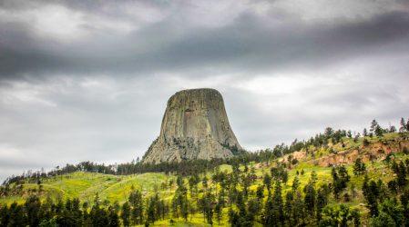 Devils Tower- bliskie spotkania z indiańską legendą